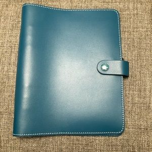 A5 original Filofax in teal